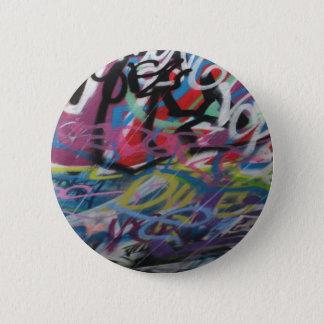 London Graffiti Badge 2 Inch Round Button