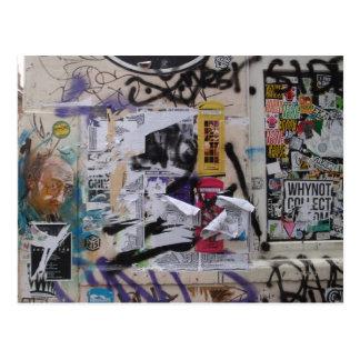 London Graffiti Post Card