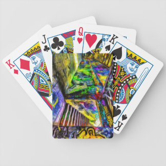 London Graffiti Van Gogh Bicycle Playing Cards