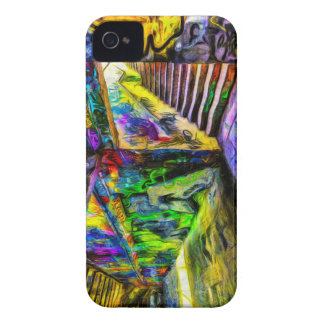 London Graffiti Van Gogh Case-Mate iPhone 4 Case