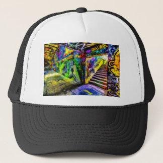 London Graffiti Van Gogh Trucker Hat