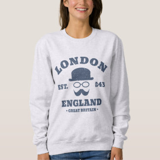 London Great Britain Vintage Hipster Sweatshirt