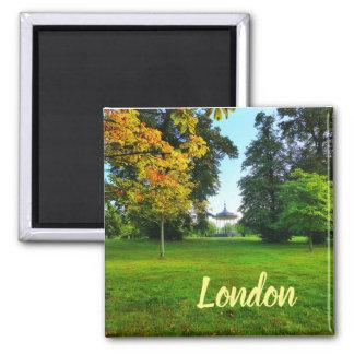London Green Park Landscape Autumn Magnet
