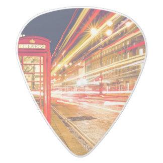 London Guitar Pick White Delrin Guitar Pick