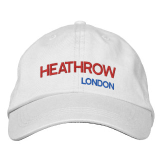 London Heathrow Airport Adjustable Hat
