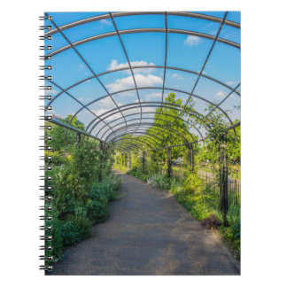 London Hyde Park notebook