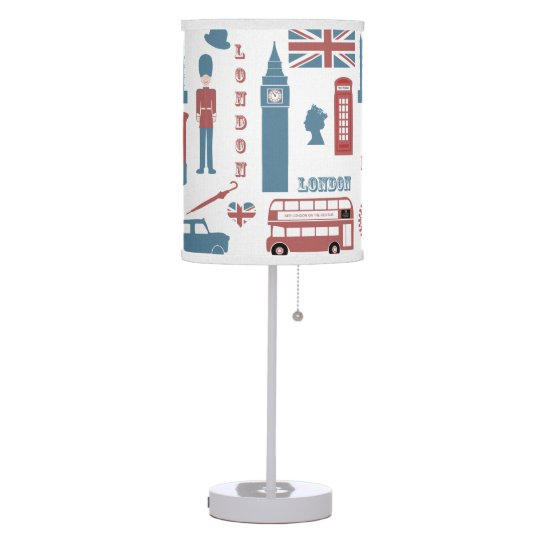 London Icons Retro Souvenir table lamp