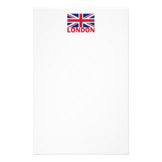 London in Red Stationery Design