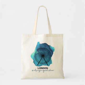 London is always a good idea! tote bag