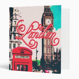 London Landmark Vintage Photo Vinyl Binders