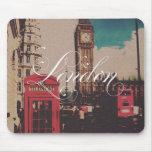 London Landmark Vintage Photo Mouse Pads