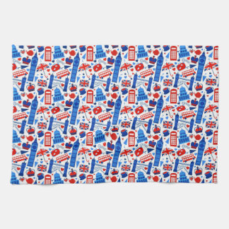 London Landmarks Kitchen Towel