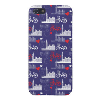 London Landmarks Pattern iPhone 5/5S Covers