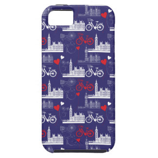 London Landmarks Pattern iPhone 5 Cases