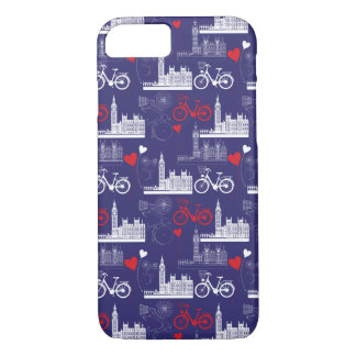 London Landmarks Pattern iPhone 8/7 Case