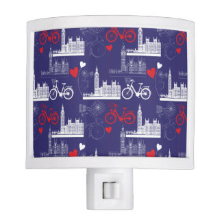 London Landmarks Pattern Night Lite