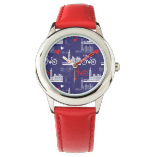 London Landmarks Pattern Watch