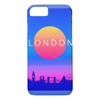 London Landmarks Travel Poster Case-Mate iPhone Case