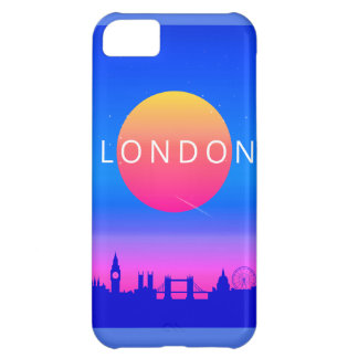 London Landmarks Travel Poster iPhone 5C Covers