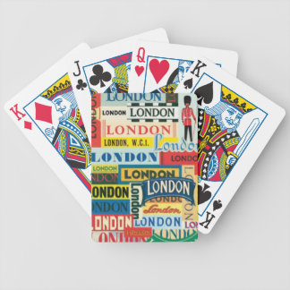 London London Bicycle Playing Cards