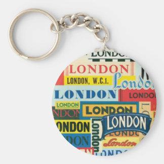 London London Keychain