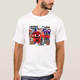 London Love Red Bus Union Jack Shirts