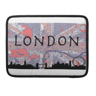 London Macbook Bag Sleeves For MacBook Pro