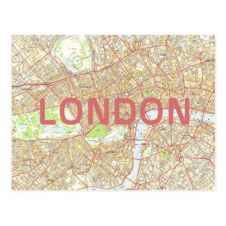 London map card