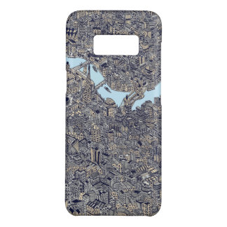 London map drawing thames color Case-Mate samsung galaxy s8 case