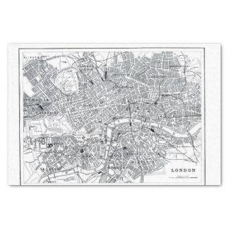 London Map Tissue Paper