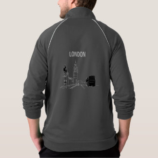 London Modern Stylish Sketch Elegant Big Ben Cool Jacket