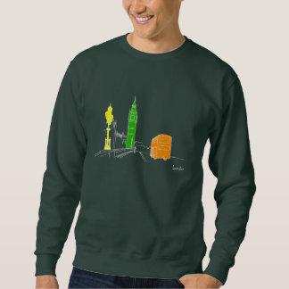 London Neon Modern Stylish Sketch Trendy Cool Chic Sweatshirt