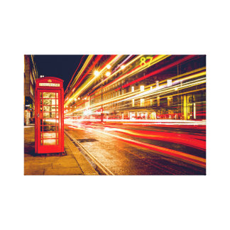 London nights canvas print