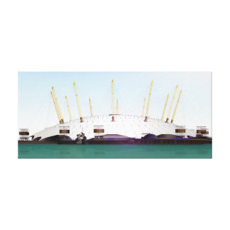 London O2 Arena - Day Canvas Print