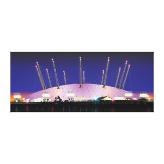 London O2 Arena - Night Canvas Print