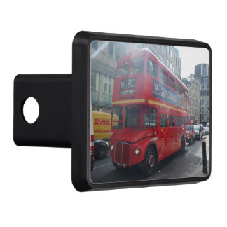 "London Old Red Bus  Hitch Cover 2"" Receiver"