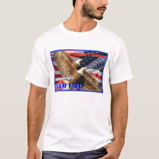 London Olympics 2012 america usa bald eagles T-Shirt