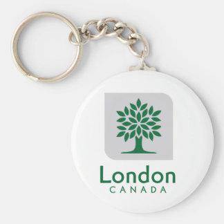 London, Ontario flag Keychain