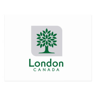 London, Ontario flag Postcard