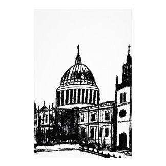 London painting customized stationery