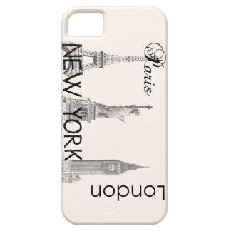 London, Paris, New York iPhone 5 Case
