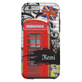 London Phone Booth iPhone 6 Case (Case-Mate) Tough iPhone 6 Case