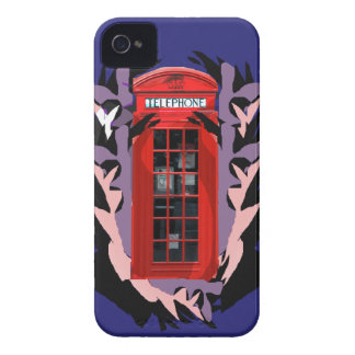 London phone booth Iphone Case