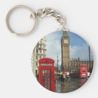 London Phone box & Big Ben (St.K) Keychain