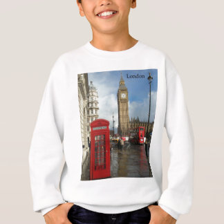 London Phone box & Big Ben (St.K) Sweatshirt