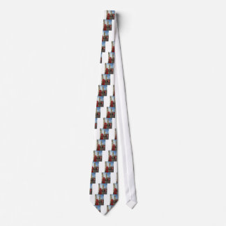 London Phone box & Big Ben (St.K) Tie