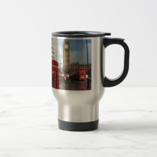 London Phone box & Big Ben (St.K) Travel Mug