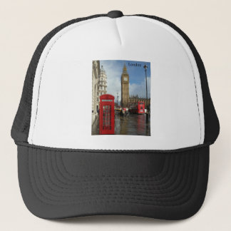 London Phone box & Big Ben (St.K) Trucker Hat