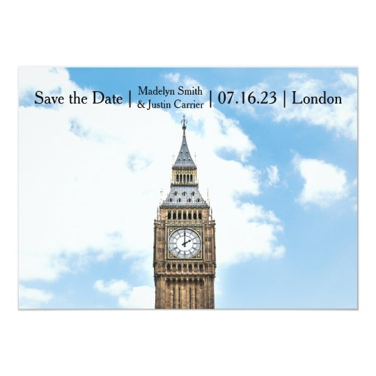 London Photo - Save the Date Card