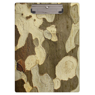 London Plane Tree Bark Clipboard